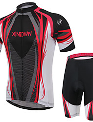 XINTOWN® Cycling Jersey with Shorts Unisex Short Sleeve BikeBreathable / Quick Dry / Ultraviolet Resistant / Soft / Lightweight Materials