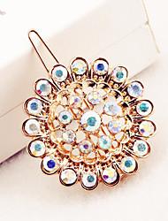Sunflower diamond mosaic luxury alloy hairpin