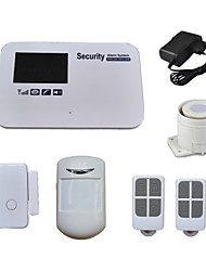 SMS Call Burglar GSM Alarm System Wireless For Home House Shop Anti Theft Security with Voice, Android IOS App