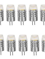 10pcs G4 2W 180LM 3000K/6000K Warm White/Cool White Light Lamp Bulb(DC12V)
