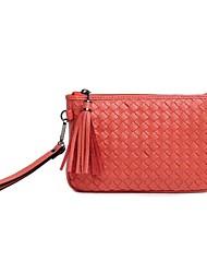 Sac à Bandoulière / Cabas / Mobile Bag Phone / Sac de Voyage-Jaune / Rouge / Noir-Coquillage-Cuir de Vache-Femme