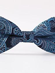 Noeud Papillon (Bleu , Polyester) Motif
