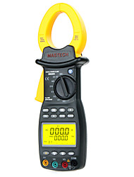 Mastech MS2203 Forcipated Three-phase Harmonic Power Meter - Motor Power Harmonic Phase Power Quality Analysis