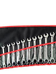 12 ensembles de 8-19 rochet jeux de clés à cliquet
