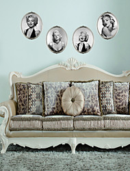 Marilyn Monroe Retro 3D Photo Frame Wall Stickers Living Room Bedroom Pvc Removable Wall Sticker Home Decor Room