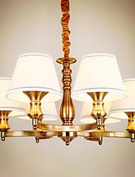 5 Lámparas Araña ,  Rústico/Campestre / Cosecha Galvanizado Característica for Mini Estilo MetalSala de estar / Dormitorio / Comedor /