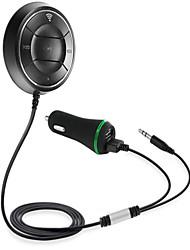 BC01 steun nfc bluetooth 4.0 handsfree 2.1a usb auto-oplader 3,5 mm aux-ontvanger