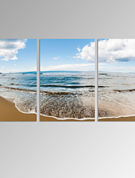 VISUAL STAR®Stretched Ocean Landscape Canvas Print Seascape Wall Art Ready to Hang