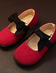 Zapatos de bebé - Planos - Vestido / Casual - Sintético - Marrón / Rosa / Rojo