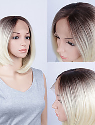 Fashion Synthetic Wigs Lace Front Wigs Bob Straight  Heat Resistant Hair Wigs Women