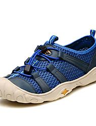 Men's Cycling Shoes Synthetic Blue / Khaki