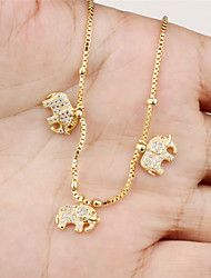 Drill the Elephant Ms 18K Gold Bracelet
