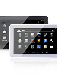 THTF 7029 9 pulgadas 2.4GHz Android 4.4 Tableta (Dual Core 800*480 512MB + 8GB N/C)
