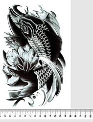 1 Tattoo AufkleberSchmuck Serie Tier Serie Blumen Serie Totem Serie Andere Olympic Series Cartoon-Serie Romantische Series Nachricht
