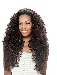 Wild Charming Long Wavy Synthetic Wigs  Kanekalon African American women Wigs