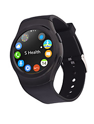 complète g3 bluetooth mode smart watch mtk2502 gprs sim smartwatch circulaire sur mesure pour apple iphone android phone