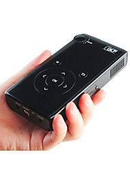 Mini Size LZ - DLP600 Multimedia LED Black Projector 100 Lumens with DLP Manual Focus Full Color Projector