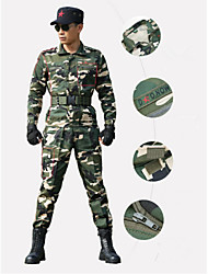 Men Outdoor Casual Sports Jacket Shell Climbing Jacket Special Camouflage Field Suit Hunting Suits