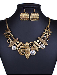 Women Vintage / Casual Alloy Necklace / Earrings Sets