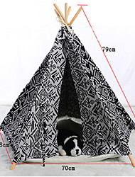 Fashion Comfortable Mixed Material Portable House For Dogs / Cats