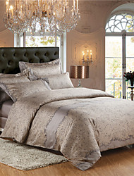 Egyptian Cotton Bedding Set 4pcs Queen King Double Bed Size