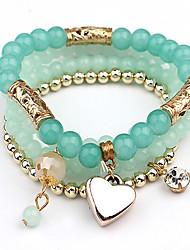 Bracelet- enAcrylique-Mignon / Décontracté-Perlé
