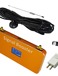 New LCD Display CDMA 850MHz Mobile Phone Signal Booster Amplifier with Whip and Sucker Antennas Coverage 1000m² Gold
