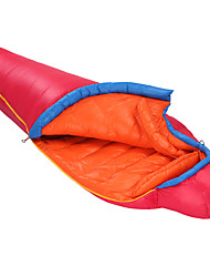 Sleeping Bag Mummy Bag Single -15 to -10 Degrees Celsius Duck Down 1000g 203cmX80cmHiking / Camping / Beach / Traveling / Hunting /
