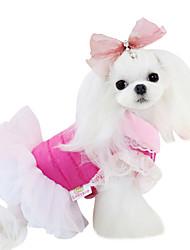 Perros Vestidos / Ropa / Ropa Azul Primavera/Otoño Un Color Moda