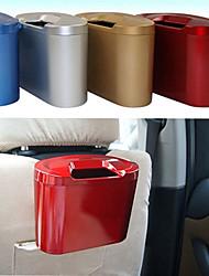 ZIQIAO Car Hanging Trash Bin Waste Storage Box