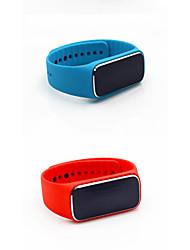 mise à niveau 37 degrés bracelet de santé smart fiteness traqueur meaturing analyse le rythme cardiaque du sang de l'humeur du podomètre