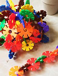3.3cm Schneeflocken Bausteine Baukasten DIY Spielzeug (325pcs)