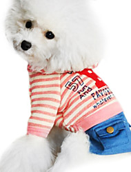Dog Hoodie / Clothes/Clothing Blue / Pink / Gray Spring/Fall Fashion