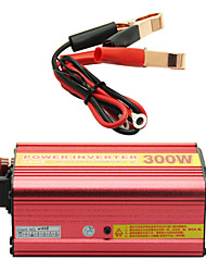300W Car Power Inverter Automatic Conversion 12V TO 220V with Fan&USB