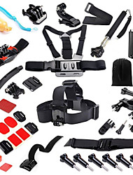 Front Mounting Monopod Clip Protective Case Case/Bags Screw Floating Buoy Adhesive Mounts Straps Hand Grips/Finger Grooves Mount / Holder