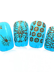 1pcs nieuwe 12x6cm image diy stamping platen nail art templates stencils voor polish xy-L23