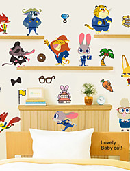 Animaux / Nature morte / Mode Stickers muraux Stickers avion , PVC 30*60cm