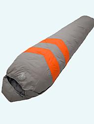 Спальный мешок Кокон Односпальный комплект (Ш 150 x Д 200 см) -15℃ Утиный пух 1500g 215X80 Путешествия Сохраняет тепло LANGYA