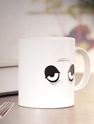 grands yeux de la marque tasse de café tasse de couleur