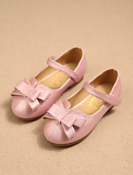 Girls' Shoes Dress / Casual Mary Jane / Comfort Faux Leather Flats Pink / White / Coral