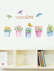 Wall Stickers Wall Decals Style The Garden of Love PVC Wall Stickers