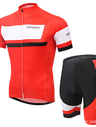 XINTOWN Breathable Quick Dry Cycling Clothing Bike Short Sleeve JerseyBicycle Sportwear Suit Jersey + Shorts