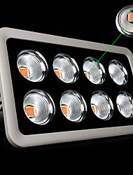 spectre morsen®full conduit 1200w Projecteur LED lampes étanches 380nm-840nm pour le système de culture hydroponique de fleurs de plantes