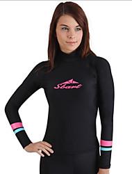 Autres Femme Hauts/Tops / Combinaisons / Tee-shirts anti-UV, tops thermiques Tenue de plongéeEtanche / Respirable / Résistant aux