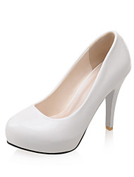 Women's Wedding Shoes Heels Heels Wedding / Office & Career / Party & Evening / Dress Black / White / Almond