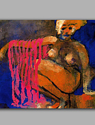 Modern Abstract Oil Painting Nude Women