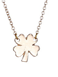 South Korea Lucky Clover Fashion Necklace