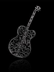 мода литература гитара брошь