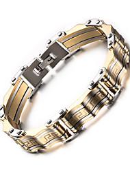 316 titanium staal 18k man armband