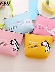 HOWRU ® Women 's PU Long Wallet/Card/Clutch bag-Blue/Pink/Yellow/Fuchsia